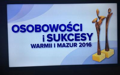 2016.12.03 Gala Osobowości i Sukcesy Warmii i Mazur 2016 – Mikołajki