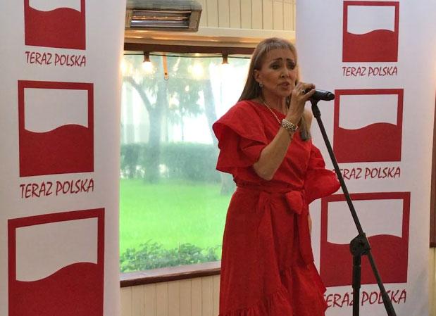 2017.07.25 Klub TERAZ POLSKA, Recital Ewy Kuklińskiej – Ambasador Krakowskiego Teatru Komedia