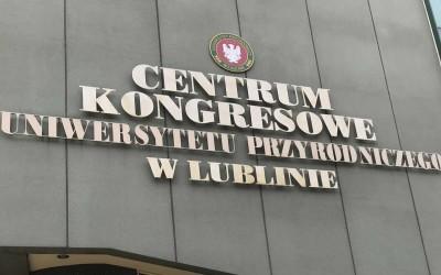 """2018.09.14 – """"Viagra i chryzantemy"""" Centrum Kongresowe Uniwersytetu Przyrodniczego w Lublinie"""